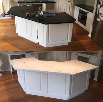 Lithostone Benchtop replacement, Nunawading