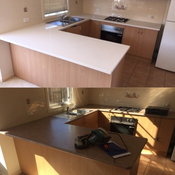 Kitchen Remodelling Project with Engineered Stone Benchtop