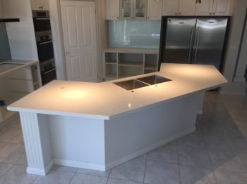 Engineered Stone Kitchen Benchtop, Berwick