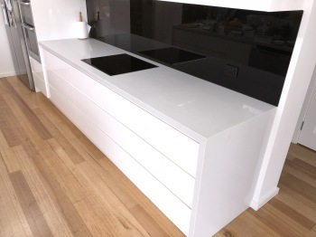 Engineered Stone Kitchen Benchtop, Blackburn