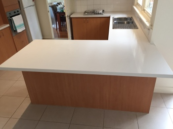 Engineered Stone Kitchen Benchtop, Box Hill North