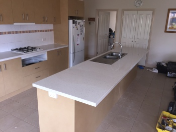 Engineered Stone Kitchen Benchtop, Chirnside Park