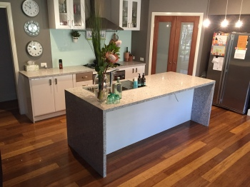 Engineered Stone Kitchen Benchtop, Croydon North