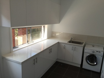 Engineered Stone Laundry Benchtop, Doncaster