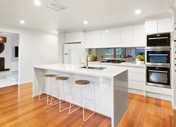 Engineered Stone Kitchen Benchtop, Donvale