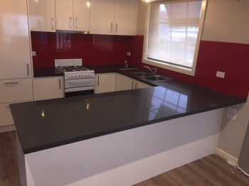 Engineered Stone Kitchen Benchtop, Macleod