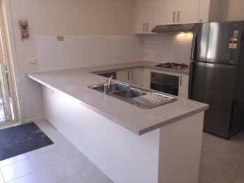 Engineered Stone Kitchen Benchtop, Mooroolbark