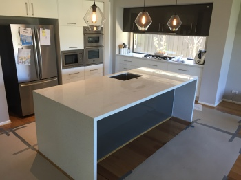Engineered Stone Kitchen Benchtop, Parkdale