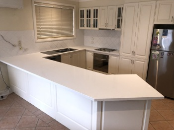 Engineered Stone Kitchen Benchtop, Ringwood