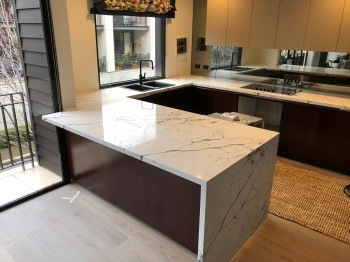 Engineered Stone Bench top, East Melbourne