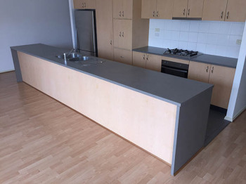 Laminate Kitchen Benchtop, Blackburn