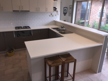 Laminate Kitchen Benchtop, Glen Waverley