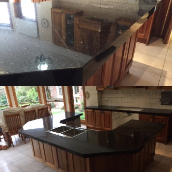 Granite Kitchen Benchtop after