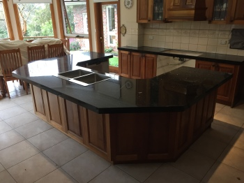 New Granite Kitchen Benchtop, Donvale