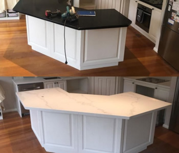 Engineered Stone Before & After Gallery