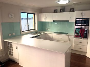 Glass Splashback,  Bentleigh East
