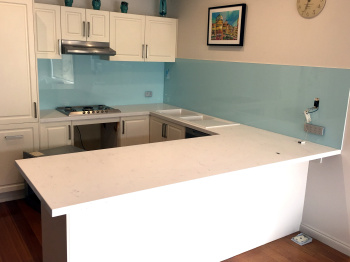Glass Splashback, Montmorency